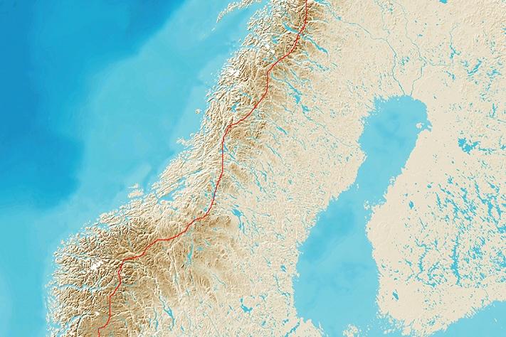 Nordryggstien – 1700 km med geologiske opplevelser