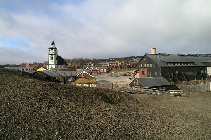 Teknologi i fjellet: Fra jernvinna til vindmøller