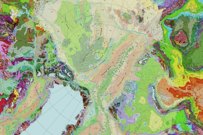Samler Arktis til ett geologisk rike