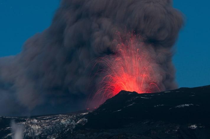 En vulkansk askesky