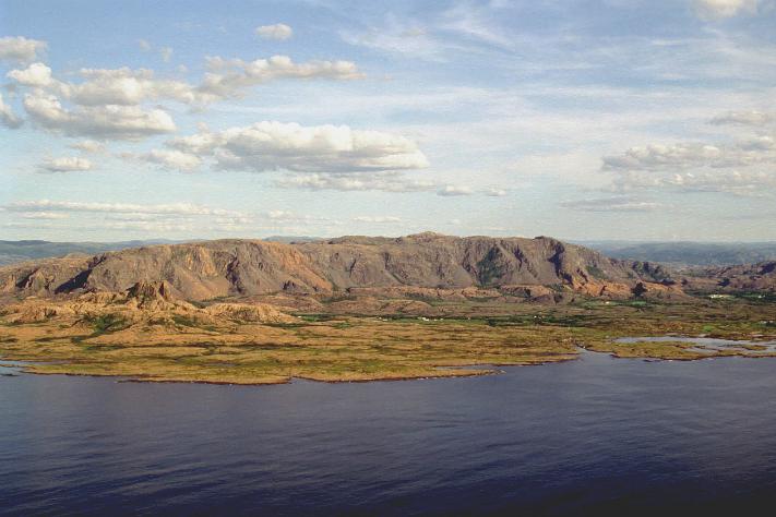Hovedstrandlinja på Leka: Et tydelig istidsminne