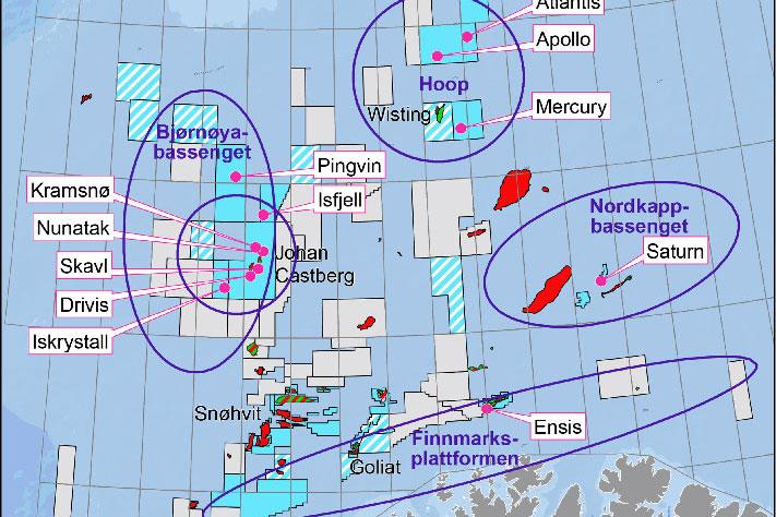 Ingen suksess i Barentshavet