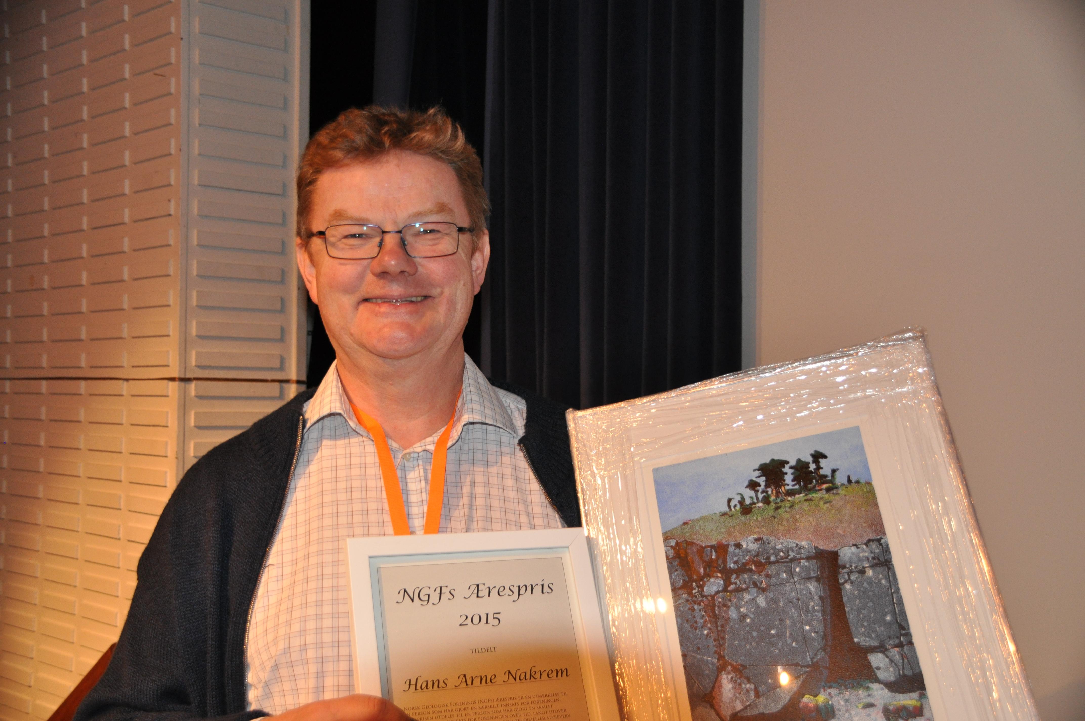 Æresprisen til Hans Arne Nakrem