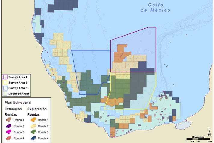 EMGS satser i Mexico