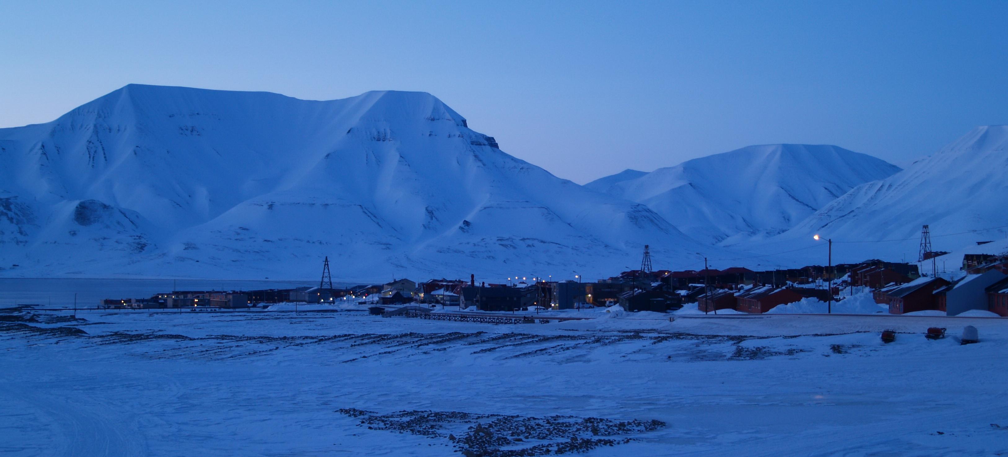 Jordskjelv på Svalbard
