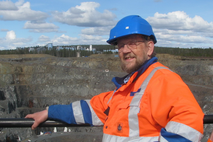 Høy temperatur om gruveindustrien