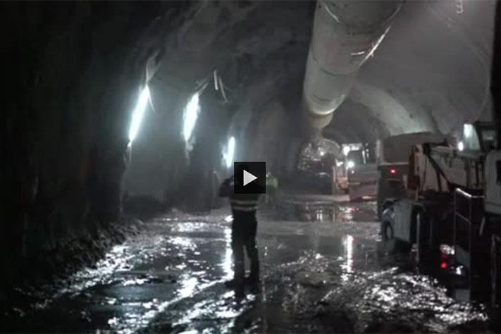Sprenger 292 meter under havbunnen
