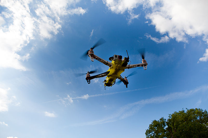 Droner inn i kampen mot skred