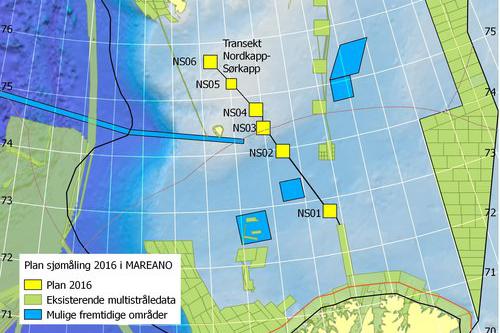 Svalbard og Barentshavet kartlegges