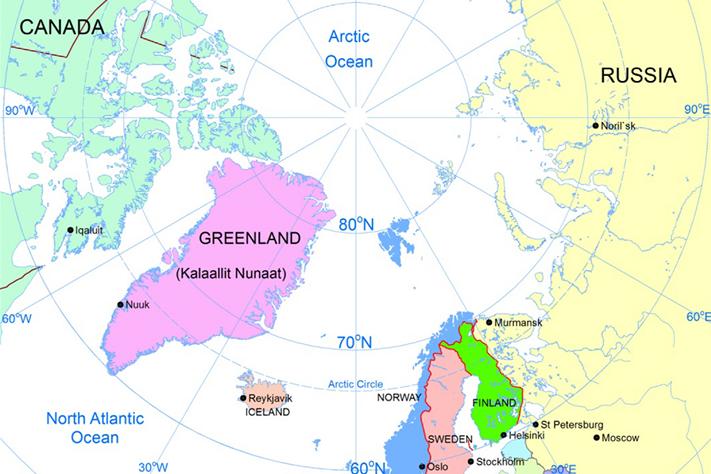 Ny bok og kart over mineraler