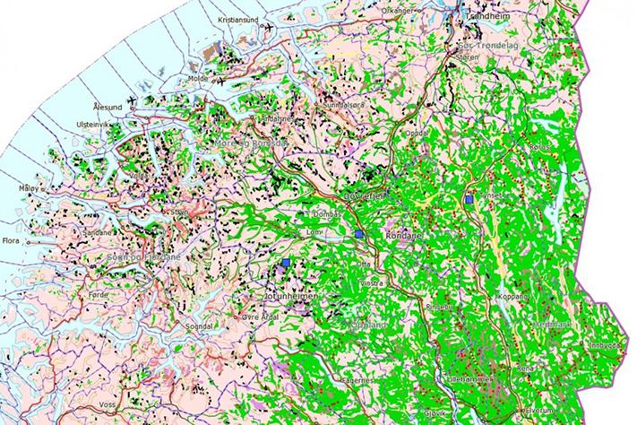 Permafrosten forsvinner