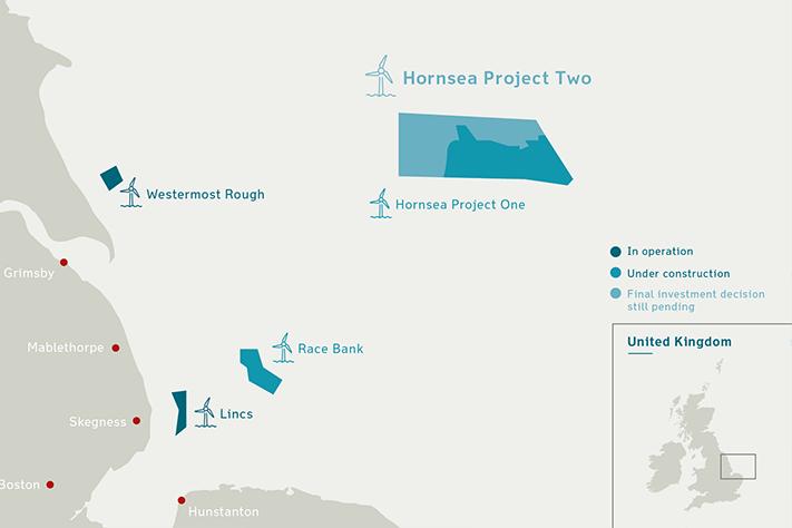 Bygger verdens største havvindpark