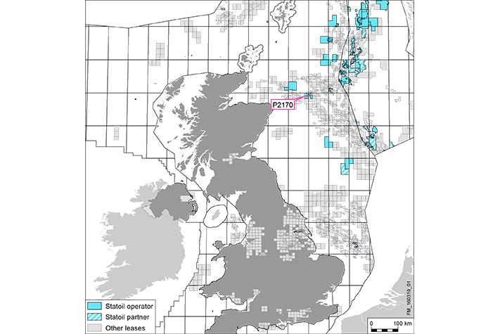 Statoil øker på Britisk side