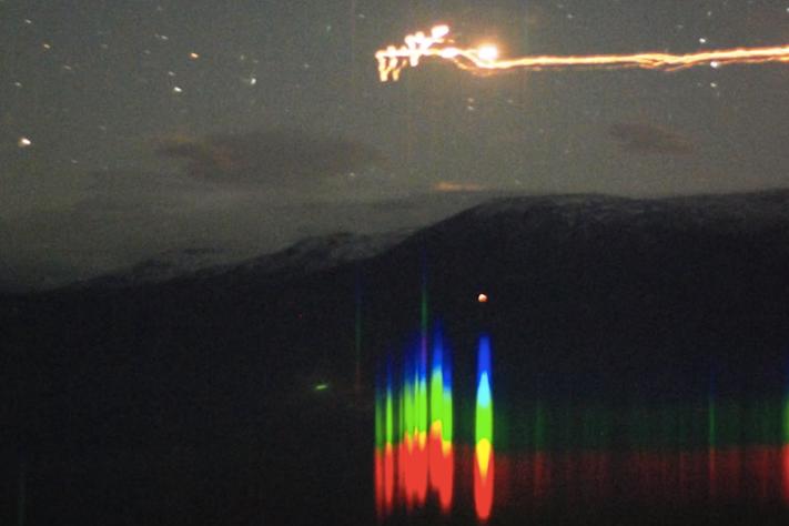 Mineraler forklarer lysfenomen?
