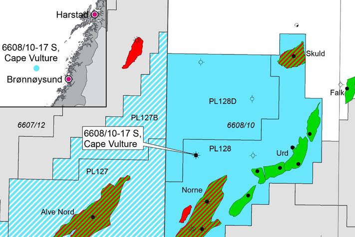 Lite oljefunn i Norskehavet