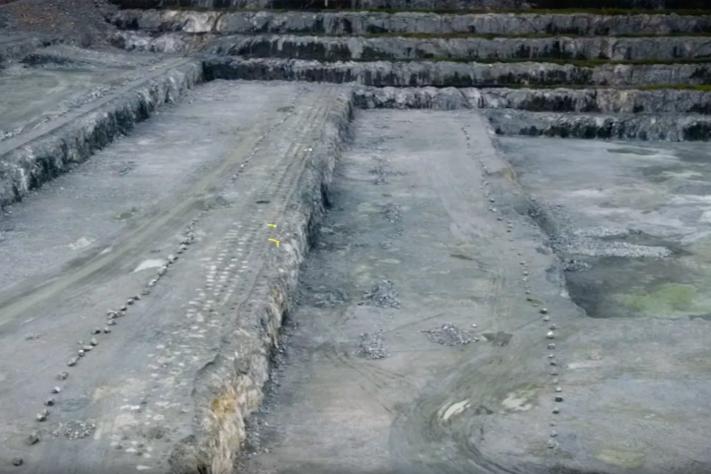 Sprenger 375.000 tonn stein