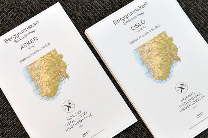 Nye berggrunnskart fra NGU