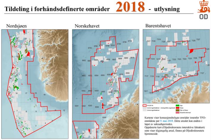 Enda mer areal i TFO 2018