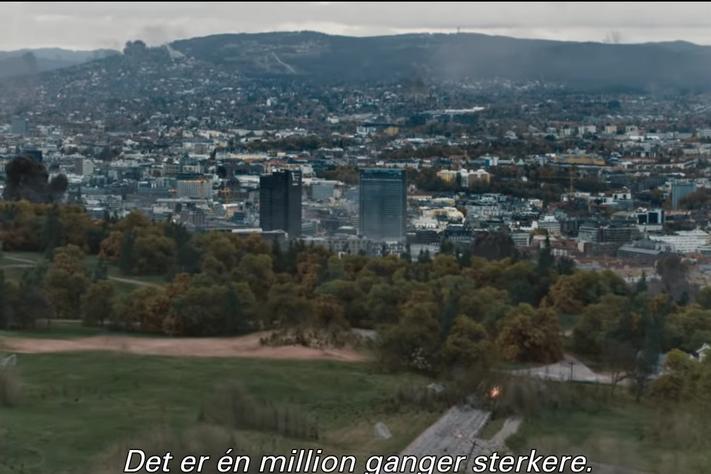 Da Oslo gikk i svart