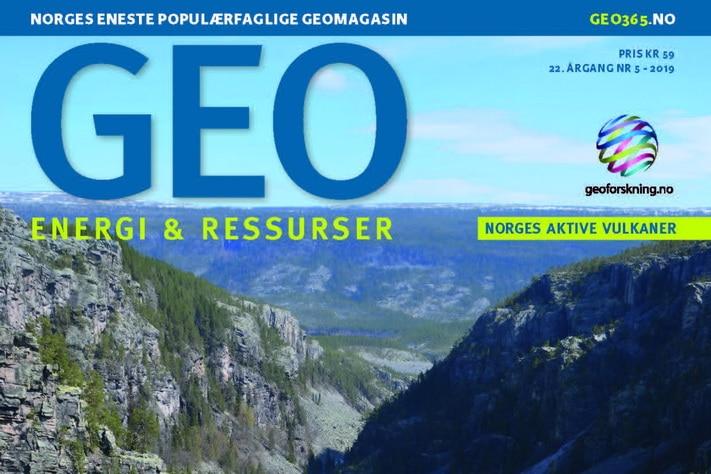 Ny utgave av GEO i posten