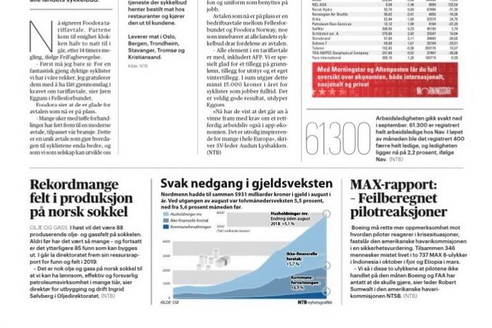 Liten interesse for norsk sokkel