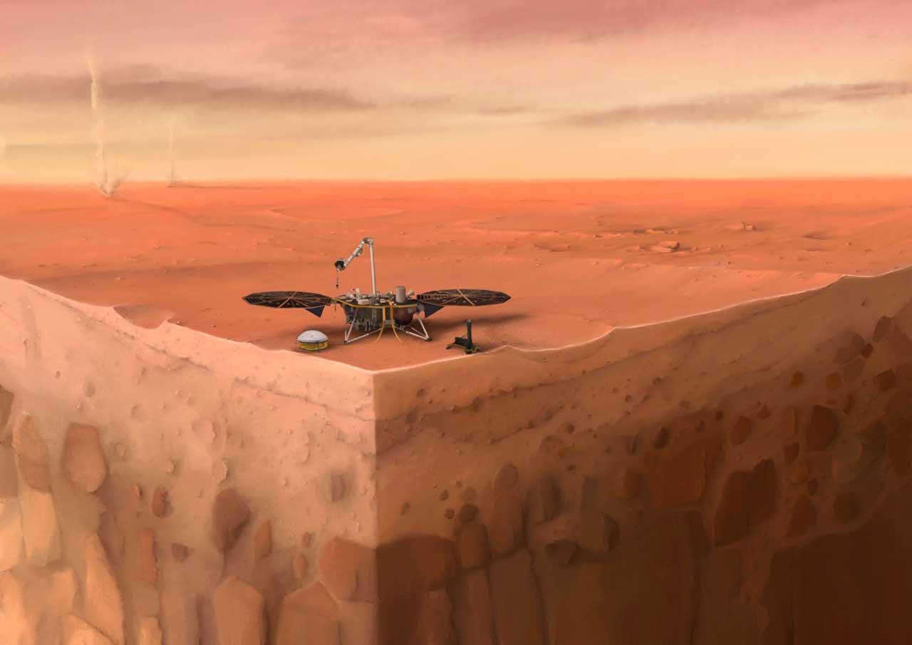 Påviste skjelv på Mars