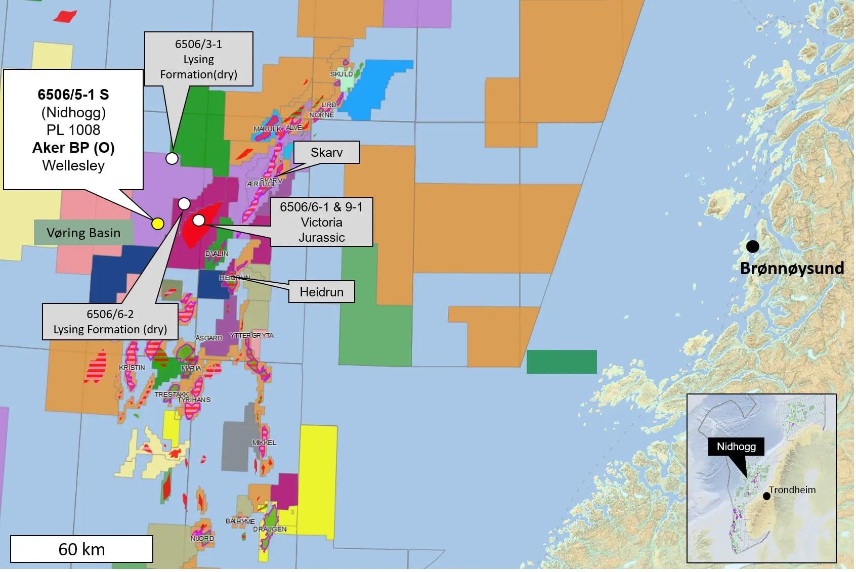 Lite gassfunn i Norskehavet