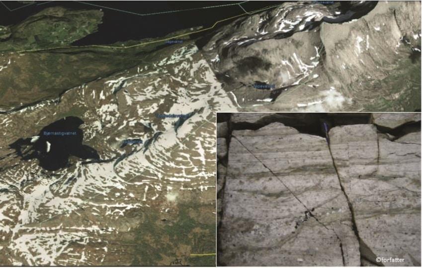 Geofunn: Elver av stein
