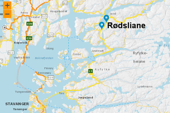 Rogalands dødsfelle