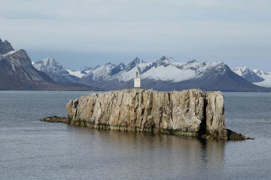 En 300 millioner år lang reise langs kysten
