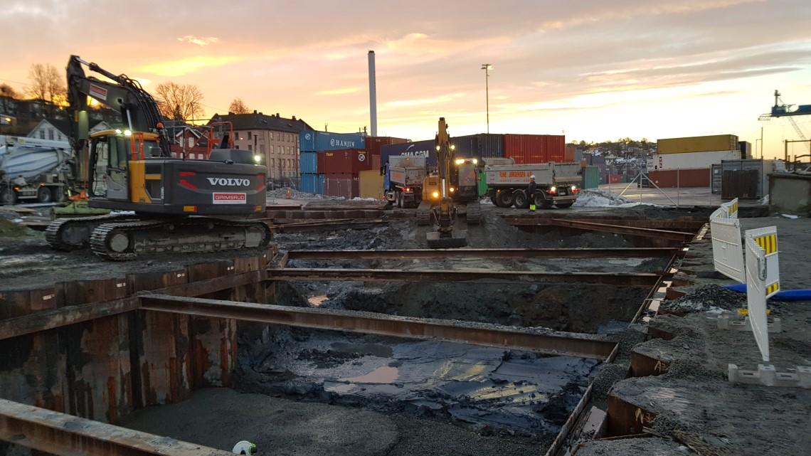 Kvikkleire forsinker jernbaneprosjekt