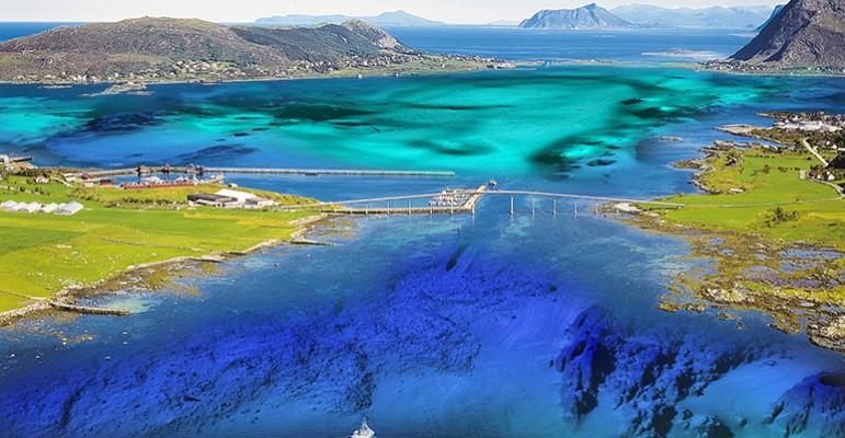Kartlegger havbunnen langs norskekysten