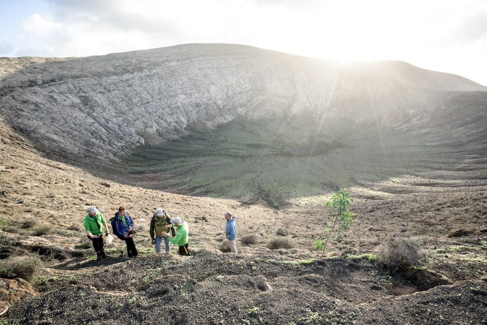 Månefarere får opplæring i geologi