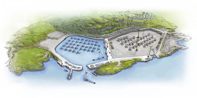 Vil bygge havvindmøller i steinbrudd på Jelsa