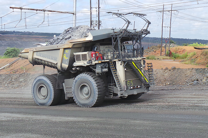 Tipptrucker med trolley-løsning