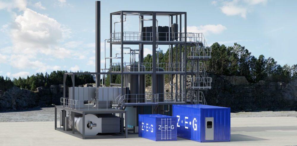 Pilotanlegg for produksjon avblått hydrogen